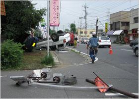 交通事故で破損した物(服や持ち物)はどこまで補償される?